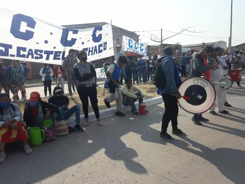 protesta-de-comunidades-originarias-castelli 2020-10-12